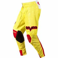 SEVEN MX youth RIVAL VERT motocross BMX pants size 20  red/yel  7514-0420