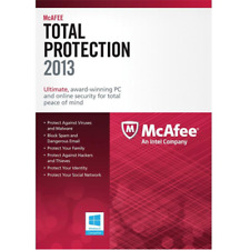McAfee Total Protection 1 PC 2013 MTP13EWD1RAA