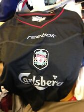 LIVERPOOL  away SHIRT 2001/2 IN 22/24 24/26 INCH AT £9 s/boys or med boys