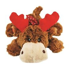 KONG CHRISTMAS  MED COZIE REINDEER DOG PUPPY TOY SOFT CUDDLY POLKA DOT SCARF