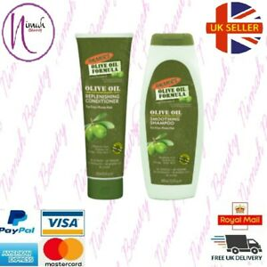 Palmers Olive Oil Replenishing Conditioner & Smoothing Shampoo For Frizzy Hair