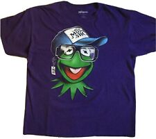 The Muppets Kermit The Frog Cotton T-Shirt  XL The Muppet Show Purple