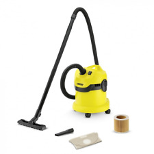 Karcher WD2 Tough Vac, Wet and Dry Vacuum Cleaner - Yellow