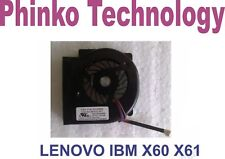 LENOVO IBM THINKPAD X60 X61 X60S X61S CPU Fan For Laptop - - - Brand New - - -