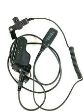 Motorola Tactical Lapel Earpiece Quick Release Radio Adapter PTT mic XTS 5000