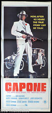 CAPONE Original Daybill Movie Poster Ben Gazzara Roger Corman
