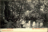 Bad Lauterberg am Harz Ansichtskarte 1908 Waldpartie am Philosophenweg Fluss