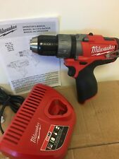 "Milwaukee 2403-20 12V 12 Volt M12  Li-Ion 1/2"" Drill Driver + (1) Charger"