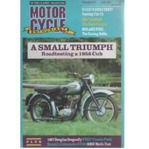 Motor Cycle Enthusiast Magazine October 1987 (026) 1957 DOUGLAS DRAGONFLY GUZZI