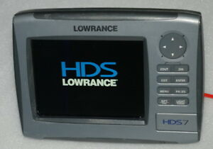 Lowrance HDS-7 GPS Receiver (Head unit only & Worldwide Model,See picture)