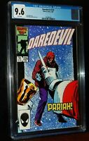 DAREDEVIL #229 1986 Marvel Comics CGC 9.6 NM+ WHITE PAGES