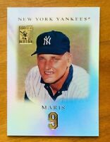 2001 Topps Tribute Roger Maris #7 Refractor Card, NY Yankees Legend