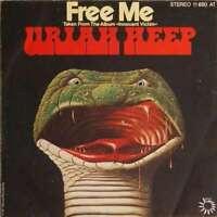 """Uriah Heep - Free Me (7"""", Single) Vinyl Schallplatte 27049"""