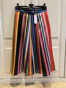 M&S Per Una Rainbow Skirt Size 10