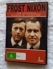 Frost Nixon: The Original Watergate Interview (DVD), Like new, free shipping