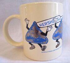 Vintage 1988 Hershey Food Corp. Hershey Kiss Ceramic Coffee Mug Cup
