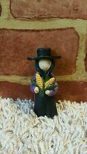 Blossom Bucket Amish Man With Corn 1637