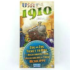USA 1910 Expansion Pack  for Ticket to Ride Game Days of Wonder Alan R. Moon