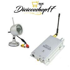 TELECAMERA WIRELESS A/V CAMERA 1.2 GHz SENZA FILI A COLORI NO DVR