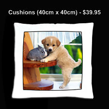 Personalised Photo Cushion, Pillow, Bed, Gift, Cover, Birthday, Christmas
