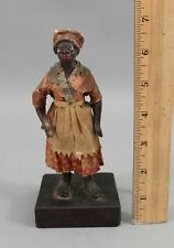 Antique circa-1900 New Orleans Francisco Vargas Americana Wax Doll Figure
