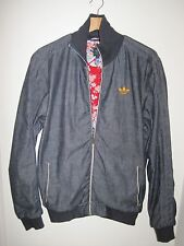 ADIDAS MATERIALS OF THE WORLD JAPAN ZIP DENIM JACKET MEDIUM TRACK TOP