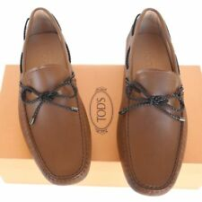 TOD'S Tods New sz UK 8.5  - US 9.5 Designer Mens Drivers Loafers Shoes brown