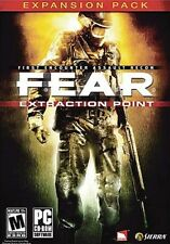 FEAR (2005) PC CD-ROM GAME WINDOWS XP/2000 BONUS Expansion Pack