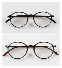 New Men Women Round Reading Glasses Clear Lens Eyewear Eyeglasses 1.0 to 4.0
