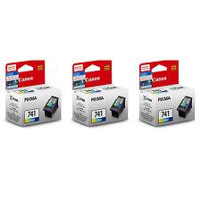 Canon CL-741 Ink Cartridges (for MG4270/MG4170/MG3670/MX537/MX527/MX517) (3pcs)