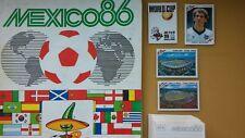 PANINI WM 86 WORLD CUP 1986 Mexico choose 5 Sticker aussuchen