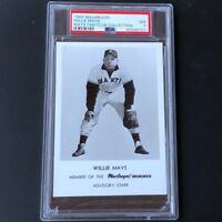1965 MacGregor Willie Mays 💥 PSA 7 NM 💥 Only 1 Higher! Fan Club Collection