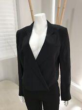 NEW COUNTRY ROAD Silk Jacket Women's Blazer Career Work Coat Suit Size 14 [R1]