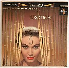 1959 Vinyl LP. Exotica (Vol. 1) : The Sounds of Martin Denny (LST-7034) VG+