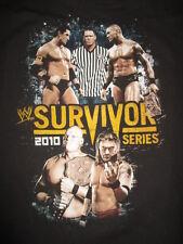 "2010 WWE ""SURVIVOR SERIES"" (LG) T-Shirt RANDY ORTON vs WADE BARRETT JOHN CENA"