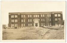 State Hospital Asylum Under Construction ~ RPPC Real Photo Postcard c.1913