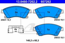Bremsbelagsatz, Scheibenbremse für Bremsanlage Vorderachse ATE 13.0460-7262.2