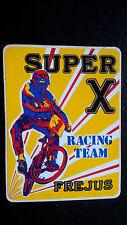 Adesivo Sticker SUPER X RACING TEAM FREJUS  cm 9,5 x 7 circa