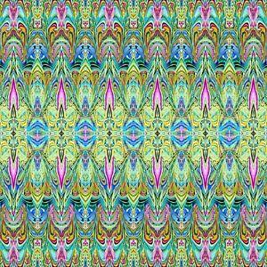 Blue Duets Lava Fabric - 12352B-55 - Paula Nadelstern - Benartex