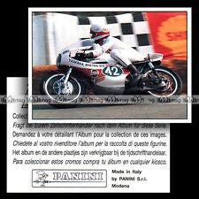 #pnsm93.012 ★ Pilote JARNO SAARINEN / 250 YAMAHA GP 1972 ★ Panini Super Moto 93