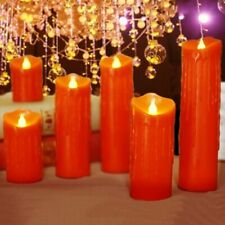New Red Wax Led With Tear Drippings Electronic Wedding Candle Lighting Fashions