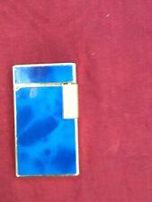 Briquet SAROME SD-II élégant bleu