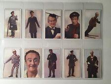 More details for music hall celebrities 1930 original set of r. j. hill cigarette cards