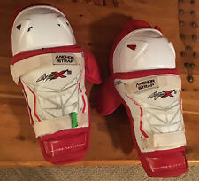 Bauer Vapor Apx 10� Hockey Shin Guards Used, Good Condition, Great Protection