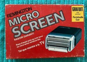 DT002:Remington Micro Screen Shaver in Original Box-model # GTX 1000
