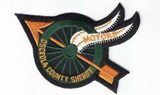 Osceola County Sheriff Motors Police patch Florida FL