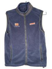 New listing Vinyard Vines Vest Mens Small Ocean Reef Usa Flag Blue Full Zip
