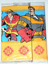 """NEW  RESCUE HEROES  1-PAPER TABLECOVER 54"""" x 89"""".  PARTY SUPPLIES"""