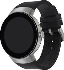 Movado Connect Men's Round Case Silicone Band Smartwatch 3660016