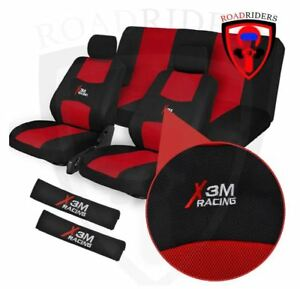 ROAD RIDERS X3M Flexible Universal Seat Cover - RED